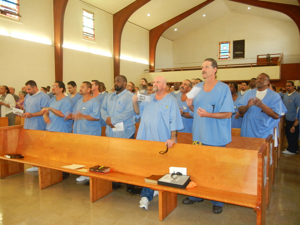 Chapel is the foundation of TUMI - and helps to create leaders and mentors among prisoners.
