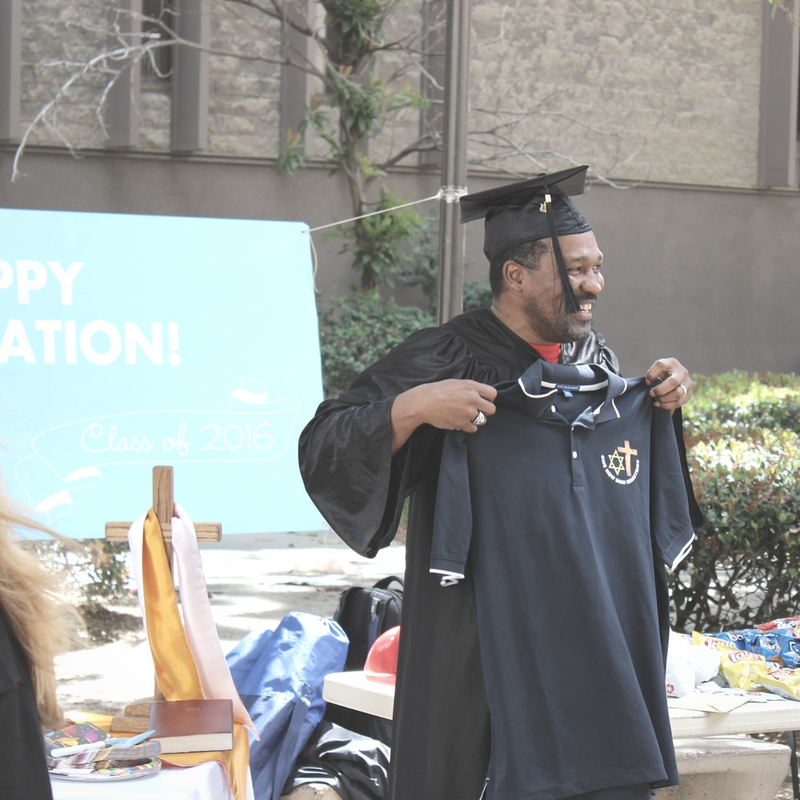 Lamont leveraged his incredible momentum toward finishing the education he had started in prison - and became a graduate and a leader in the process!