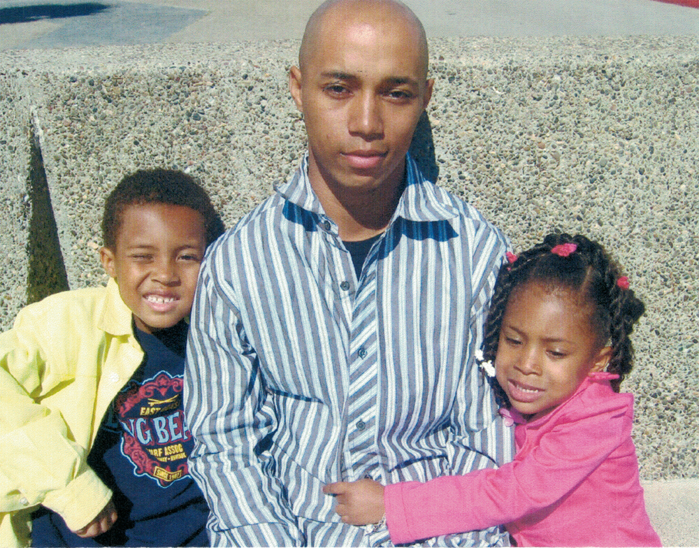 Visiting Calvin when he was stationed in Central California preparing to leave for Iraq.