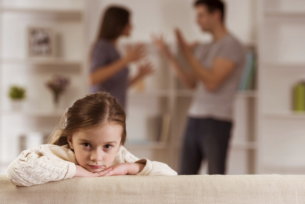 In family relationships, one person's internal struggle affects the whole family.