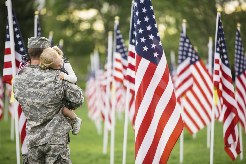 It's important to honor our military heroes - both the living and those who are no longer with us.