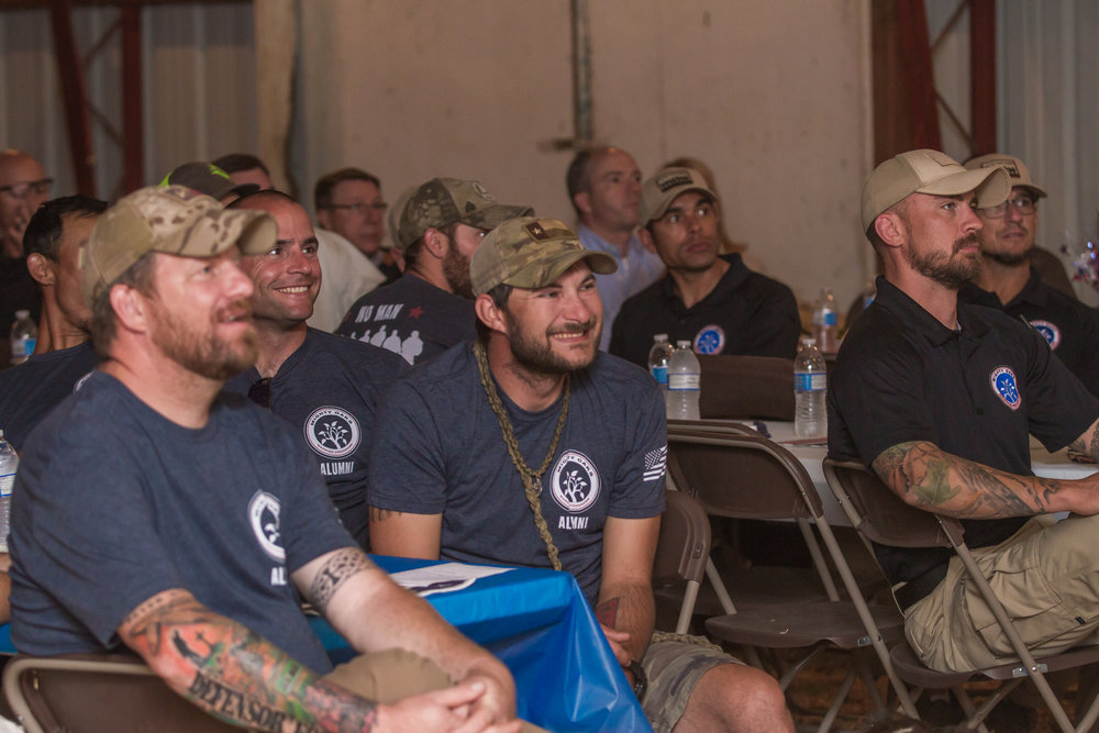 We work alongside the heroes at the Mighty Oaks Warrior Programs to bring healing to vets.