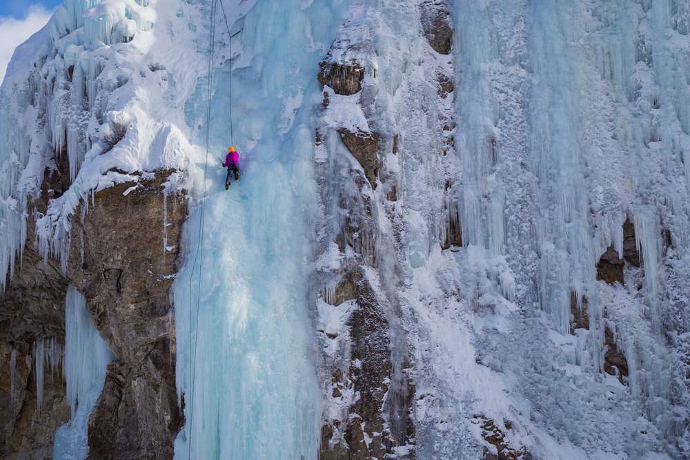 Ice Climbing for The Adaptive Sports Center