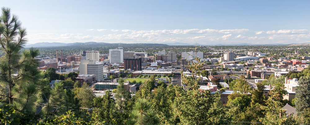 Downtown Spokane, WA