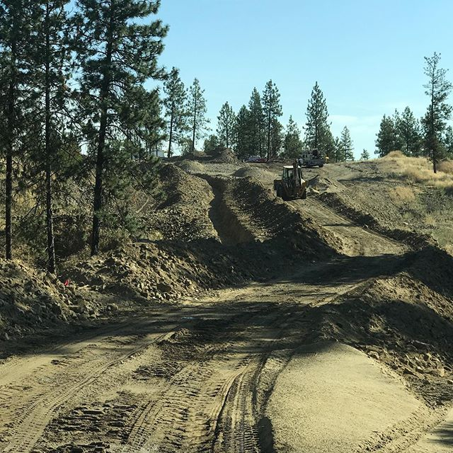 Utilities are coming!!! Trench is dug! #cats #goodlife #winning #spokane #spokaneliving