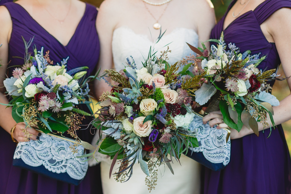 Juniper & Lace Bridesmaid Handmade Lace Clutch