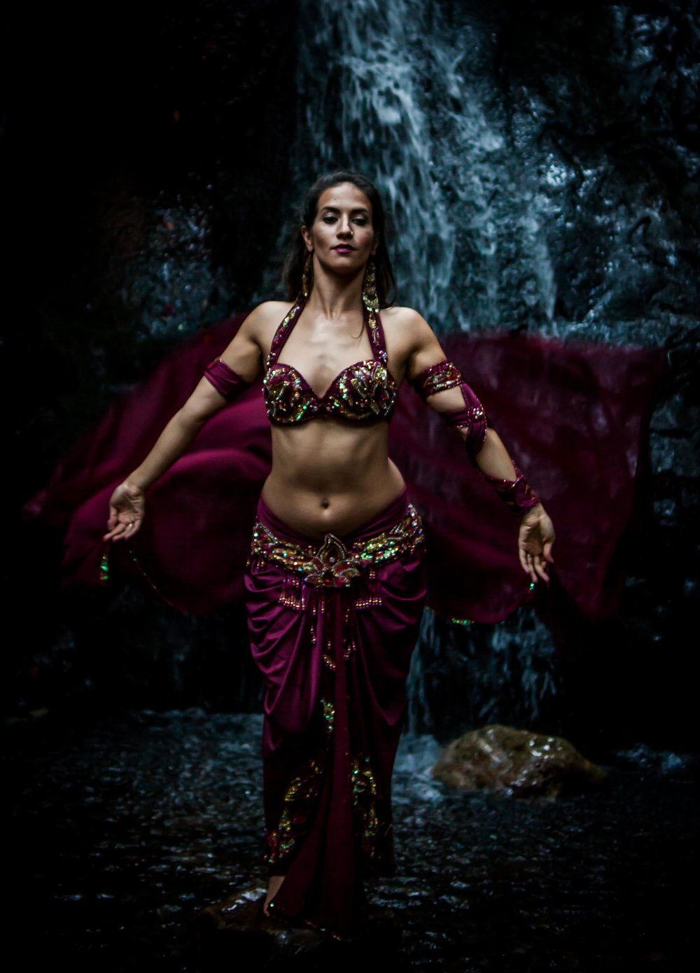 Nicole Maria, Belly Dancer.
