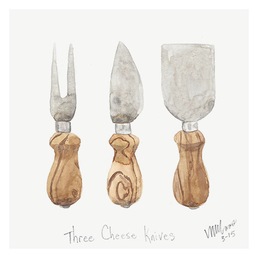 cheese knives by monica loos