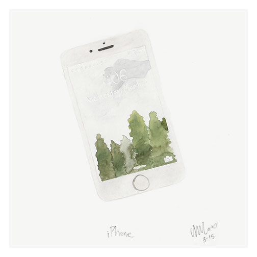 iphone by monica loos