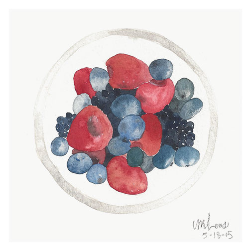 mixed berries / monica loos