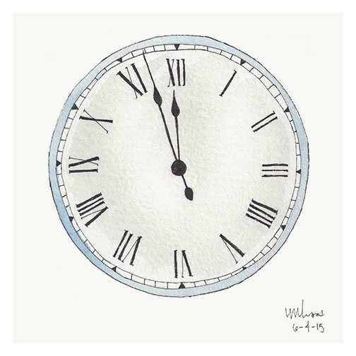 clock // monica loos
