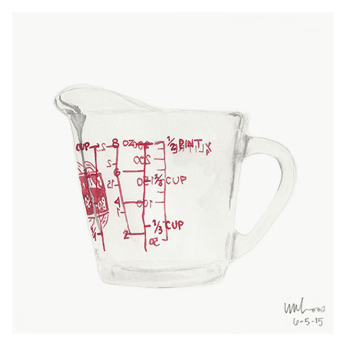 Liquid Measuring Cup // Monica Loos