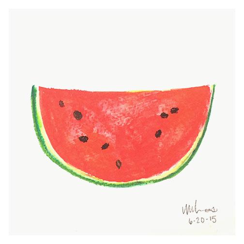 watermelon \\ monica loos