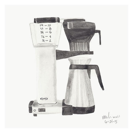coffee maker // monica loos