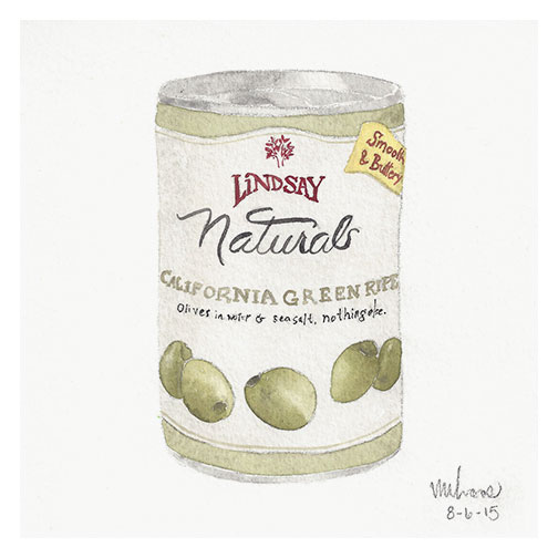 can of olives | monica loos