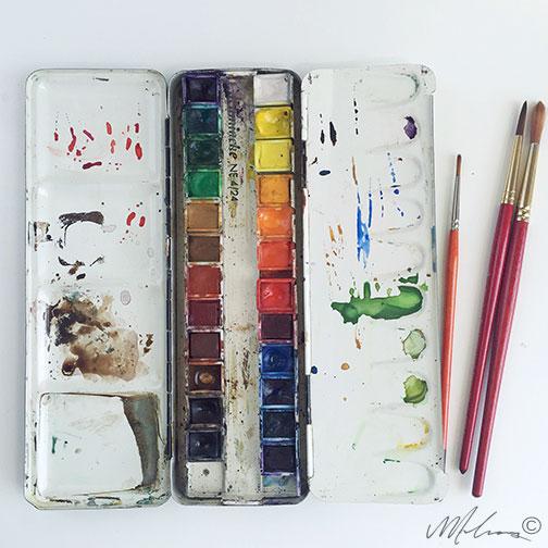 palette / monica loos
