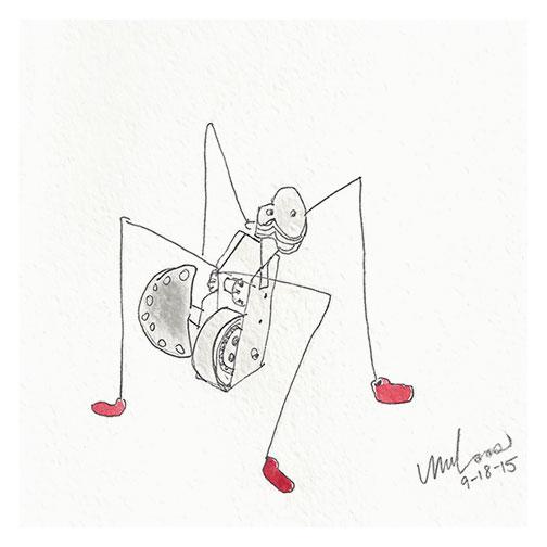 robot / monica loos