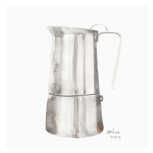 coffee maker | monica loos
