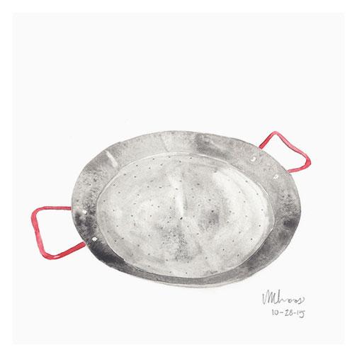 paella pan | monica loos