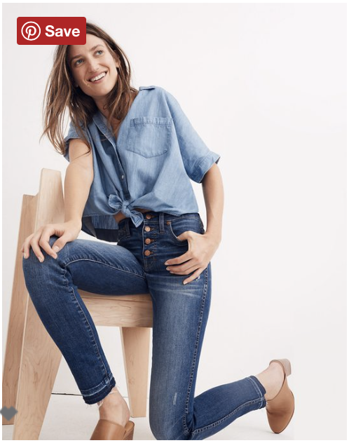 These are the ones I've had forever - My very first Madewell splurge, I wear them every chance I get. Originally $135, around $101 with the code!