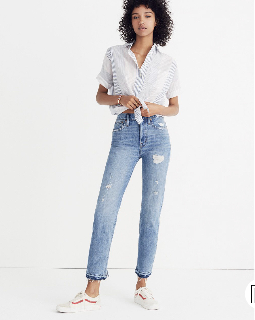 THESE JEANS! - I'm obsessed. The reviews are amazing! I'm just so sad they aren't in my size 😭 only $59