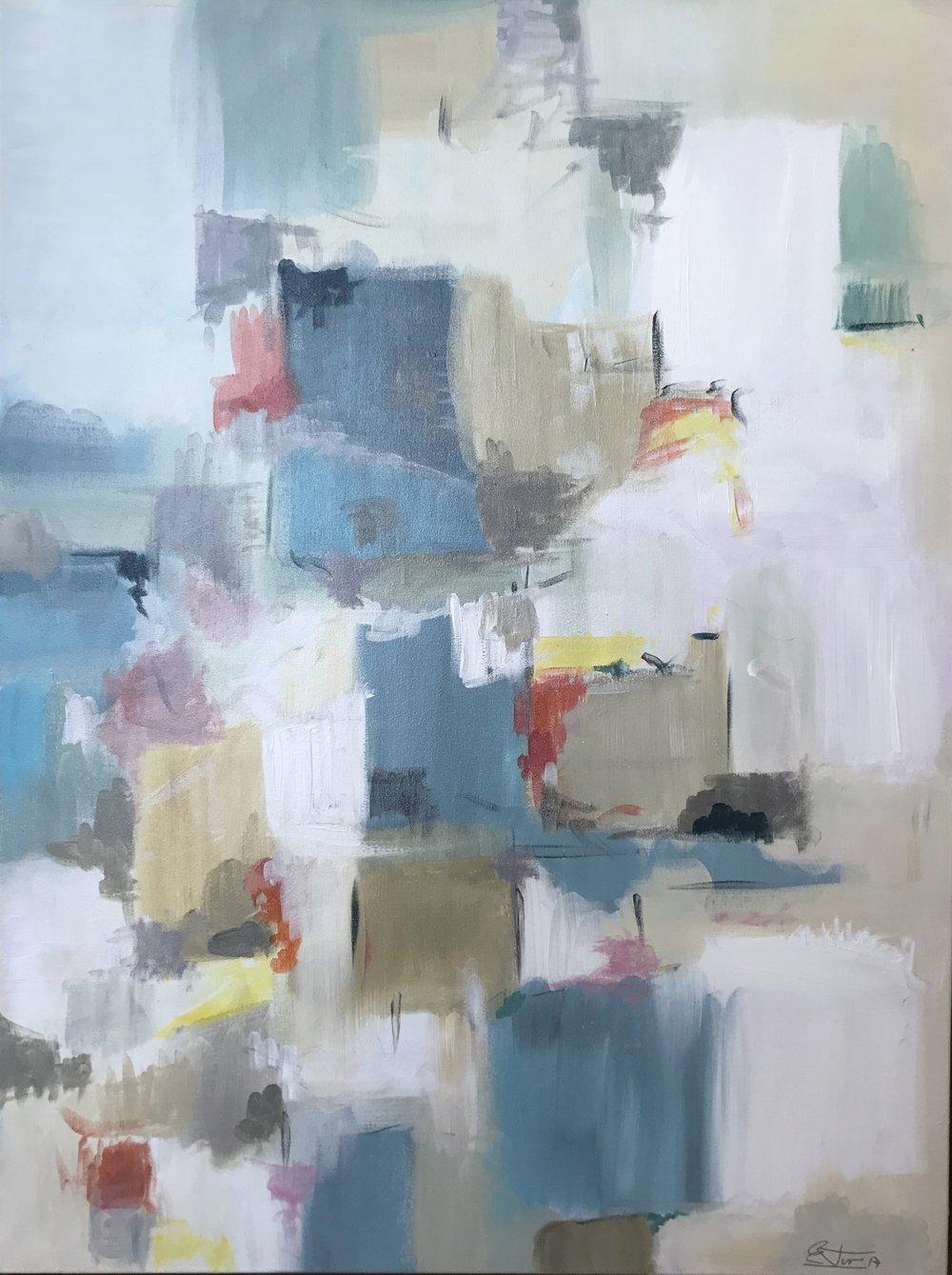 30 x 40  oil on canvas - framed
