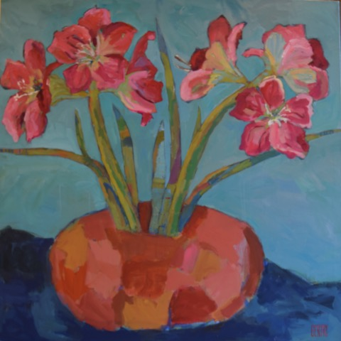 """Amaryllis by Morning"""
