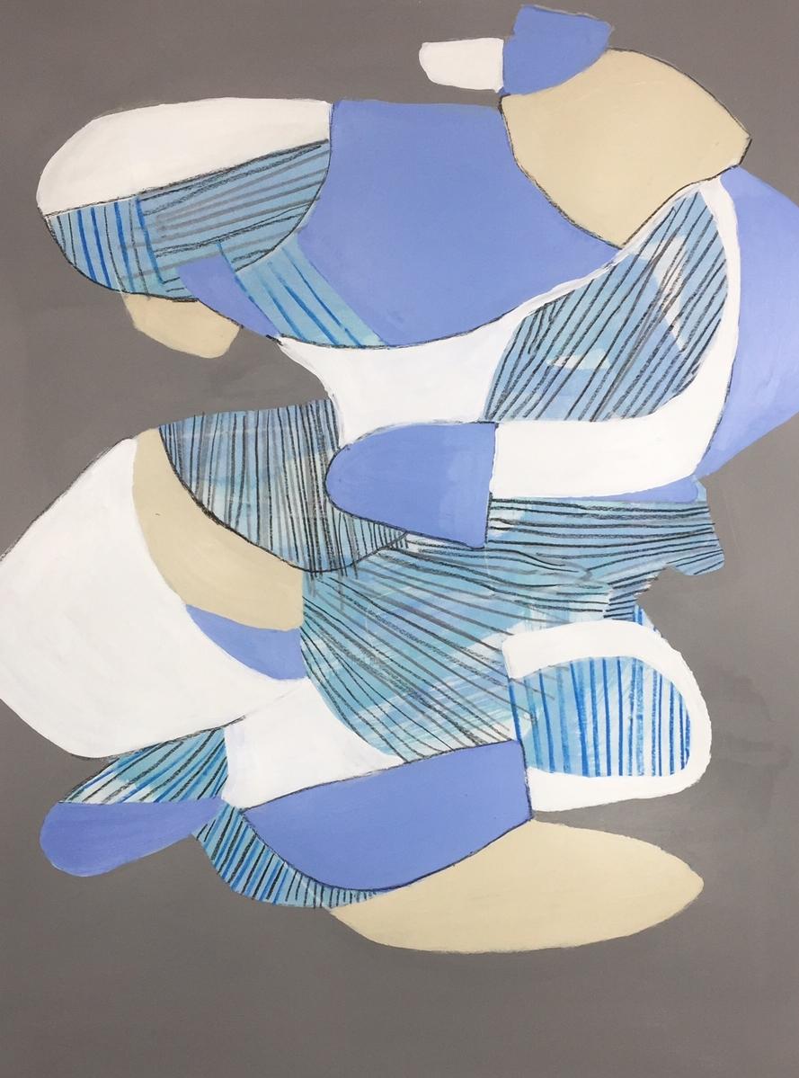 18 x 24  Acrylic on paper