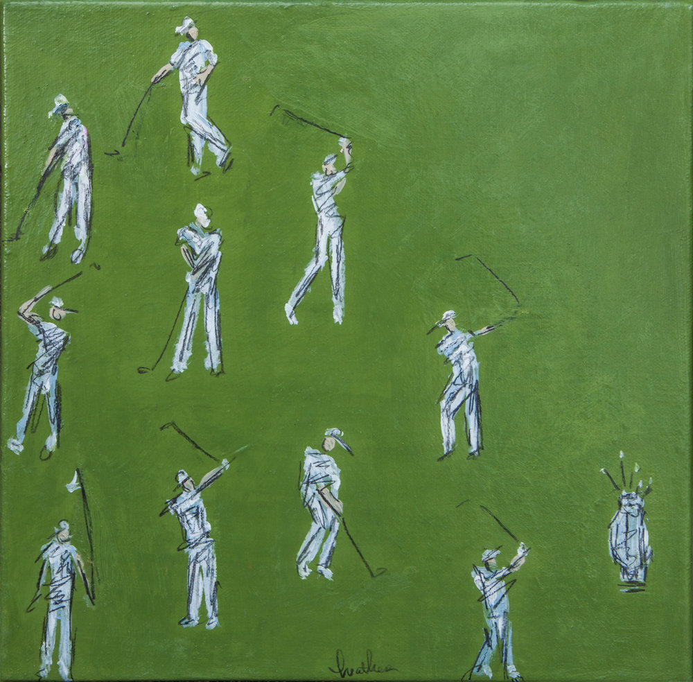 Golfers in Green Study