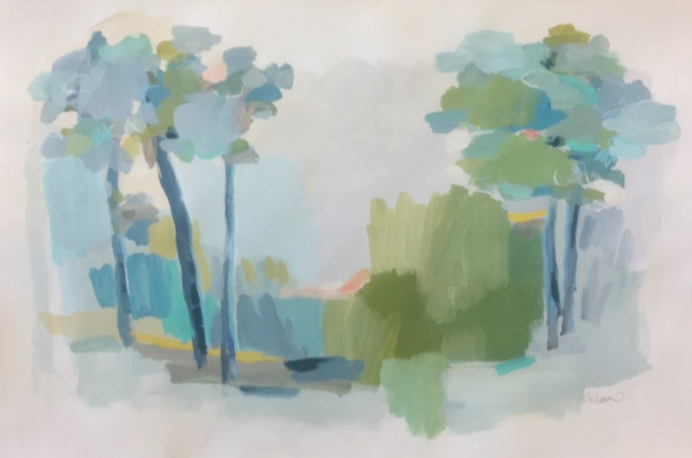 49x33  Acrylic on paper