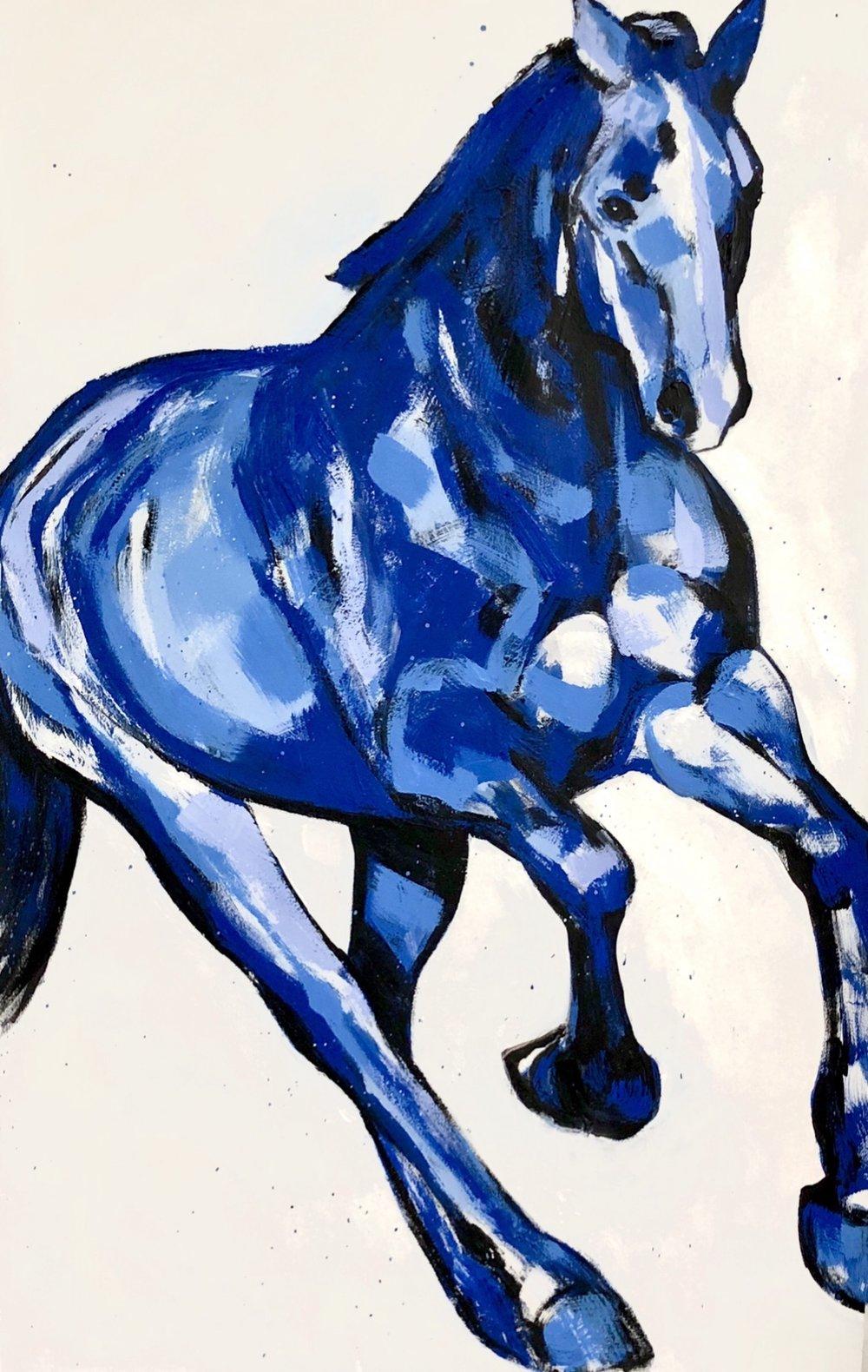 Blue Horse Series