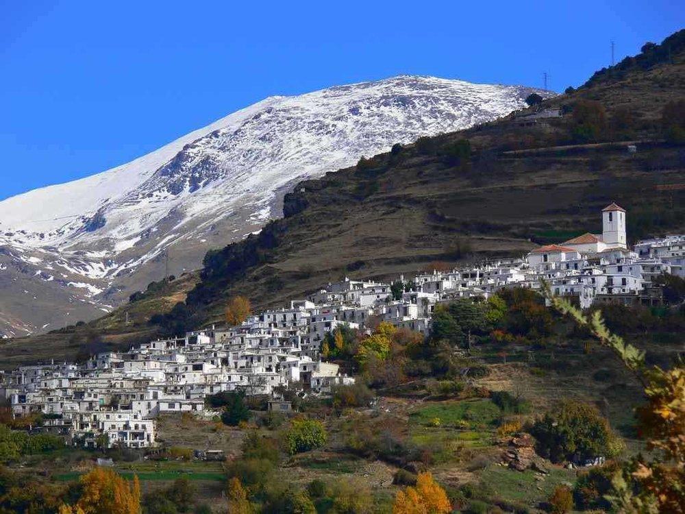 Las Alpujarras, southern flanks of Sierra Nevadas near Granada.