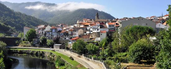 Ourense, the beginning of the last 100km to Santiago de Compostela.