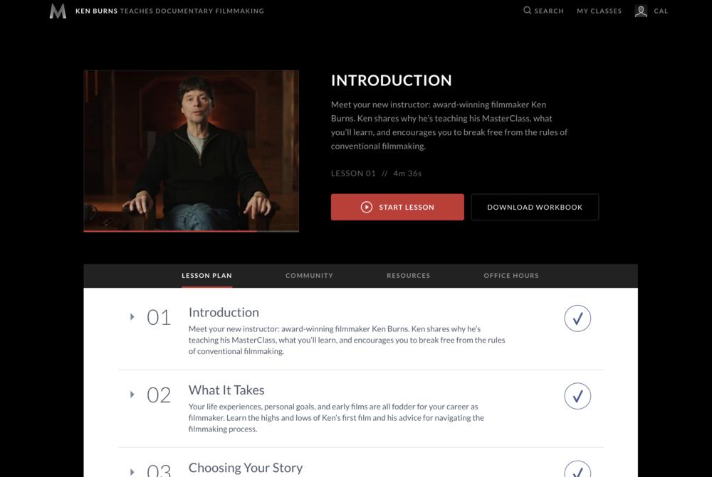 Masterclass Ken Burns Teaches Documentary Filmmaking Review