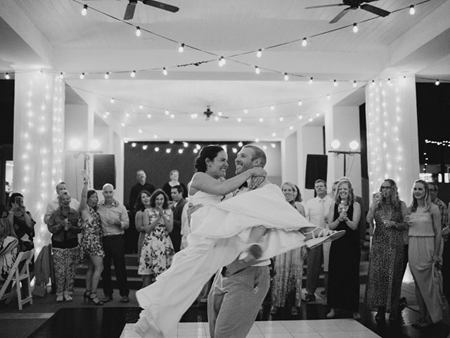 "When you and your girl choreograph a bad ass last dance to ""Time of your Life"" from Dirty Dancing and you nail it 🎉🎉⠀⠀⠀⠀⠀⠀⠀⠀⠀ •⠀⠀⠀⠀⠀⠀⠀⠀⠀ •⠀⠀⠀⠀⠀⠀⠀⠀⠀ #preciousmoments #liveauthentic #theknot #gulfcoastbride #pensacolaweddingphotography #destinationweddingphotographer #30awedding #floridaphotographer #floridaweddingphotographer⠀⠀⠀⠀⠀⠀⠀⠀⠀ shot for @kaylanicolephotos"