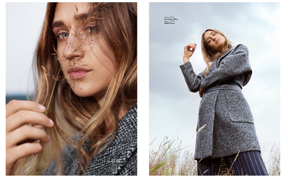 """Plaza Kvinna - Cover Story """"Winter is coming"""""""