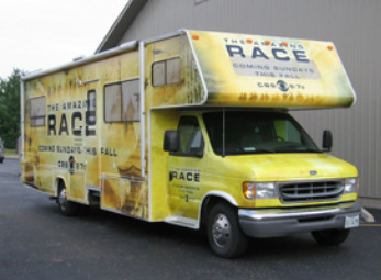 Amazing Race Vehicle Wrap