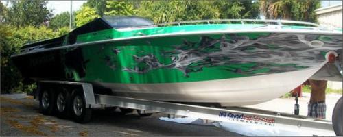 Marine Wraps Soundworks - Boat decals custom graphics