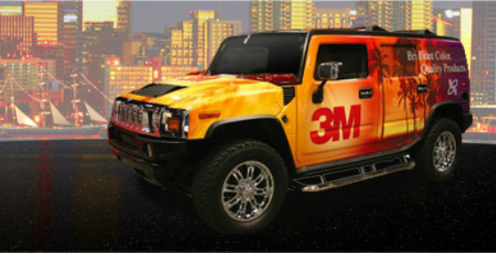 3M Commercial Vehicle Wrap