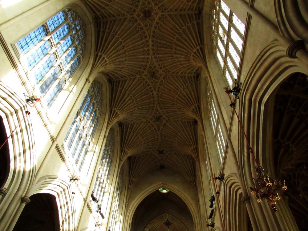The inside of Bath Abbey. Swoon.