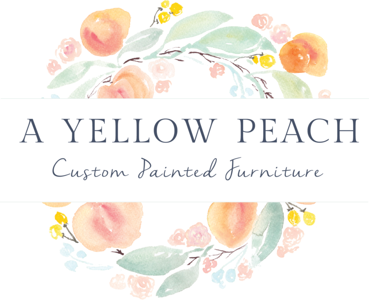 a yellow peach