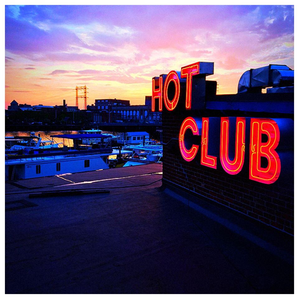 Hot Club - Hot Club - Hot Club has been in business for over 30 years! Hot Club is considered an Institution in the small city of Providence, RI. We have a great spot right on the waterfront overlooking the city and the Hurricane Barrier.