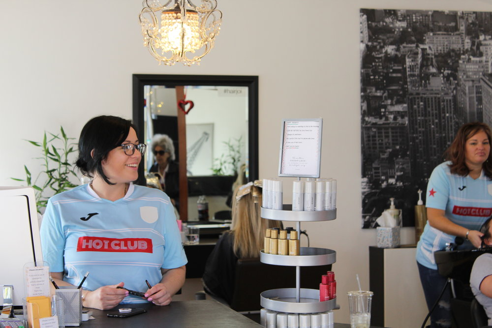Soiree Salon - Local salon in Riverside, RI taking care of your hair. They keep up with all of the latest styles and trends in hair. Stop by and let them take care of you!