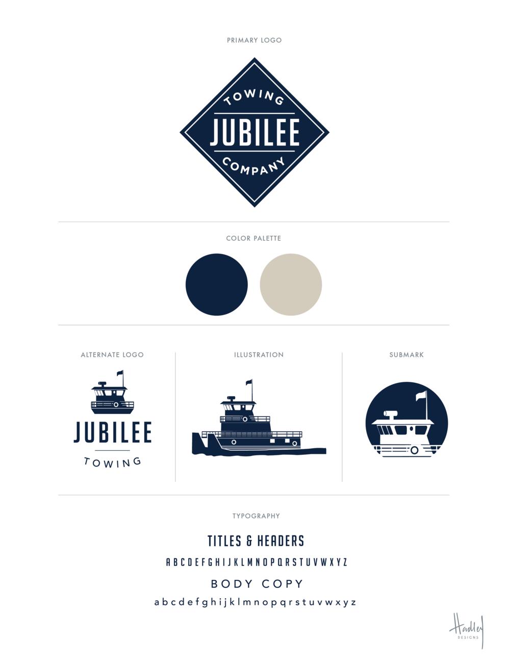 JubileeTowing_BrandingBoard