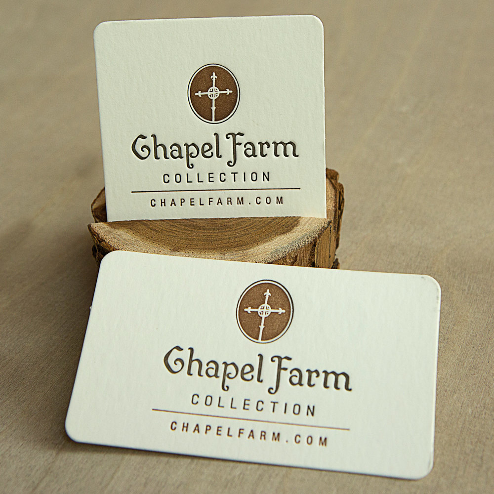 Chapel Farm Collection brand // print