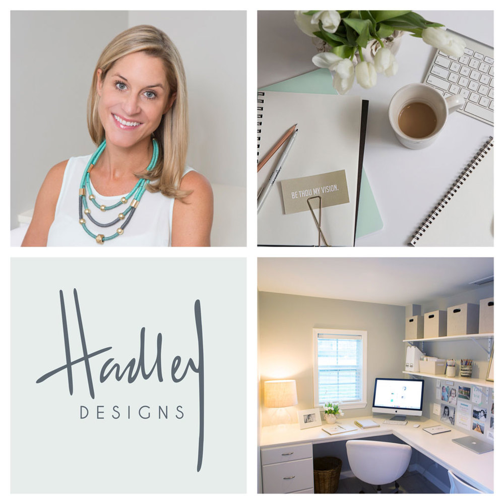 It's weird promoting yourself and your business (I have a hard time doing it even though I coach people on it everyday). I'm also not the best about sharing work-related things on Instagram...but hopefully that'll change with our new business account  @hadleybiniondesigns . F  ollow along! We have a lot of new and exciting projects to share...