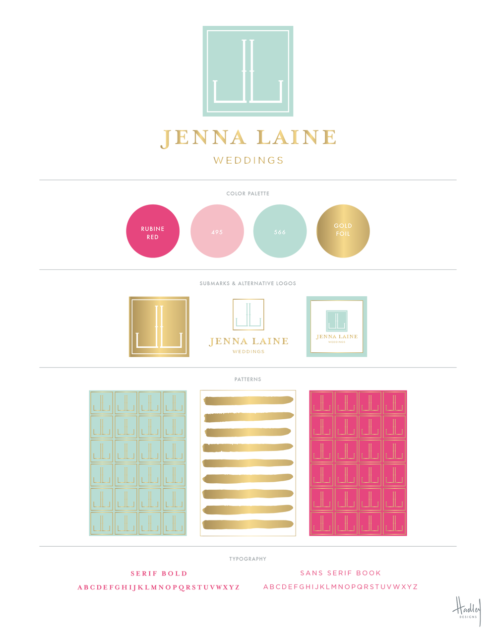 We launched the new name and branding for Jenna Laine Weddings this week! Jenna is a wedding coordinator and event designer located in Fairhope. Her office and shop is adorable (just like herself and her team). I was immediately impressed by her passion, organizational skills, and her overall entrepreneurial spirit. You can tell she is good at what she does. Period. Jenna realizes the importance of investing in her business, and I was honored that she chose me to help rename and rebrand her business. I love the video below, which is another example of the recent marketing investments she has made.