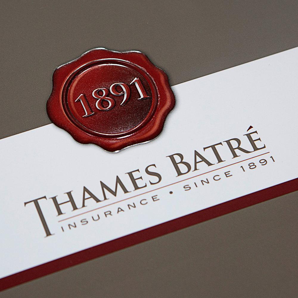 Thames Batre Insurance print // web