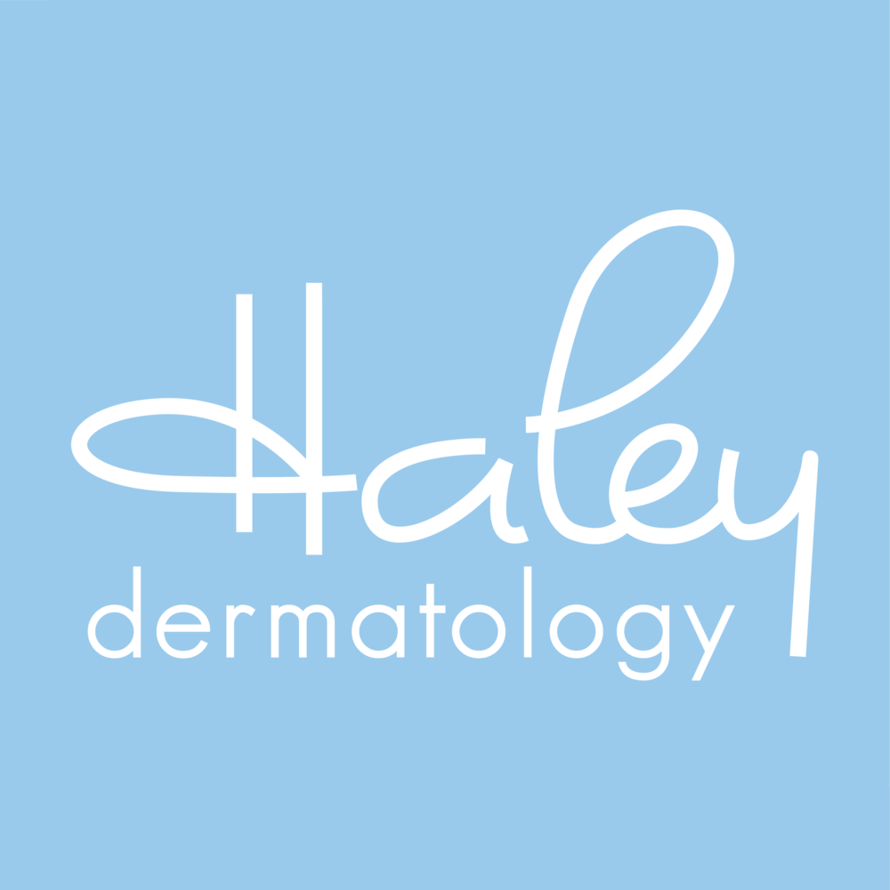Haley Dermatology brand // print