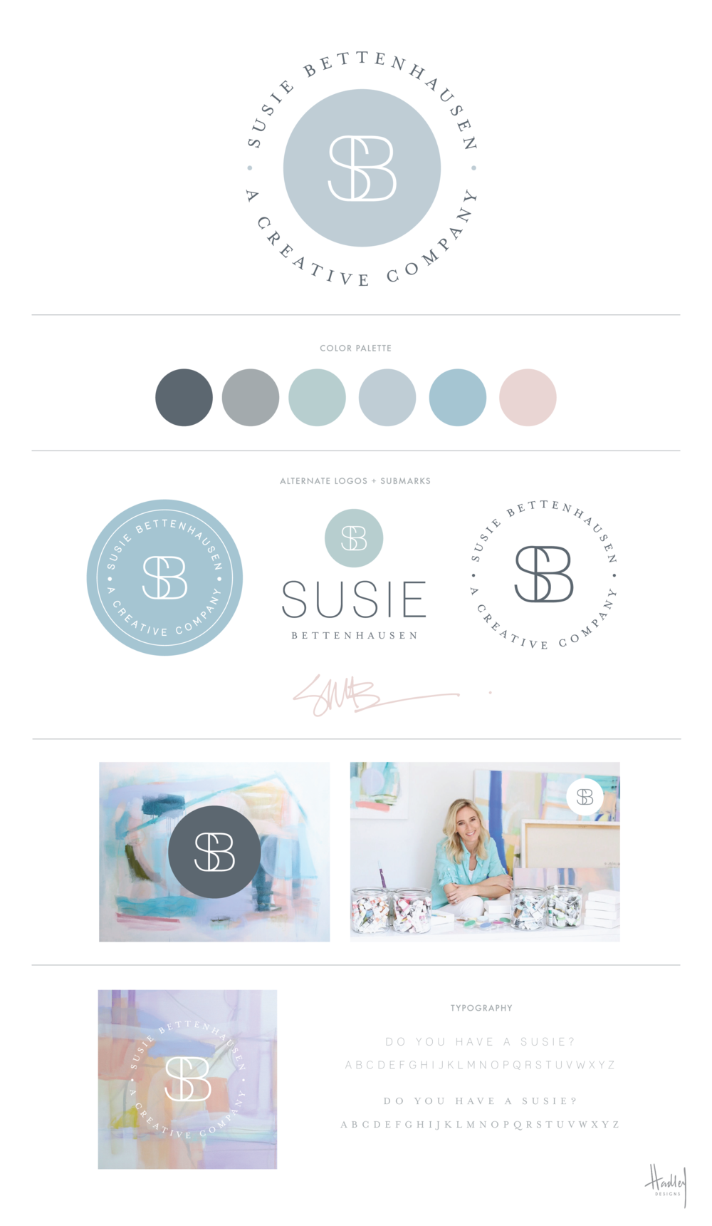 To say I've been an admirer of Susie Bettenhausen's work is an understatement. When Susie contacted me to help her with her branding, I felt like was working a celebrity:) She's as genuine and sincere as they come, and I'm loving how her branding turned out! #doyouhaveasusie